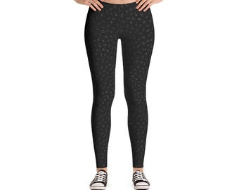 Endangered Species Outline Pattern Leggings