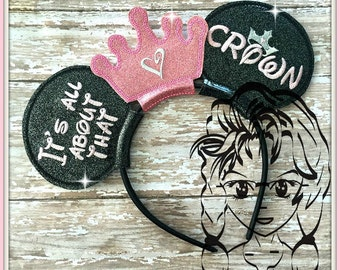 All ABoUT THaT CRoWN PaGEANT Inspired (3 Piece) Mr Ms Mouse Ears Headband ~ In the Hoop ~ Downloadable DiGiTaL Machine Emb Design by Carrie
