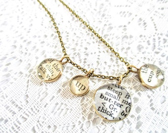 chin up butter cup necklace