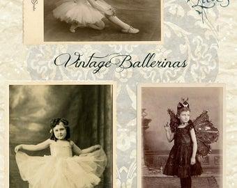 Vintage Ballerinas - Digital Download