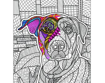 Goldie Printable Coloring Page for Adults