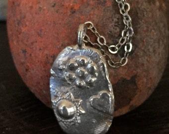Silver Treasure necklace Two