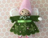 St. Patty's Day Fairy Pin OOAK
