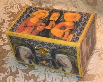 Renaissance Women Trinket Box
