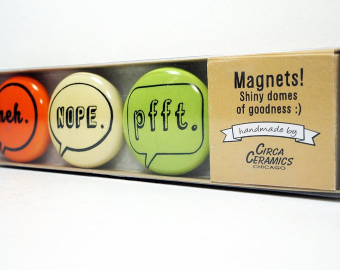Featured listing image: magnet set of commentary II. (3pk)