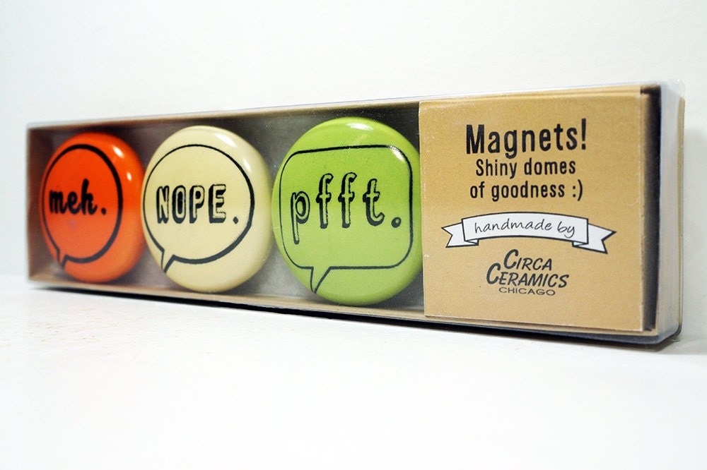 magnet set of commentary II. (3pk)