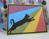 Rainbow Bridge Cat Card - cat sympathy - cat condolences - kitty sympathy - pet sympathy - animal sympathy