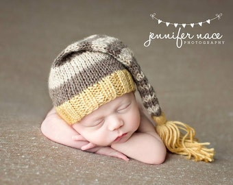 Sweet Maize - Newborn Tassel Stocking Hat