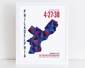Personalized Philadelphia Marathoner Map