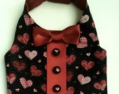 A Valentine Heart Dog Vest for your furry lover boy Perfect for a parade or therapy dog.