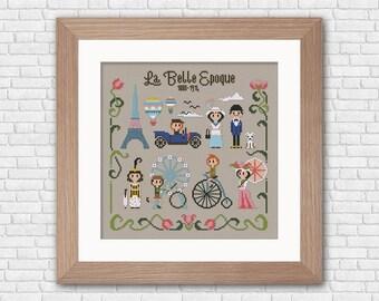 La Belle Epoque - PDF cross stitch pattern