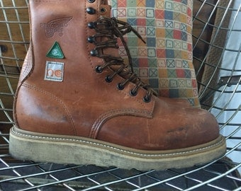 Red Wing US Men's 7.5 D Steel Toe Safety Boots