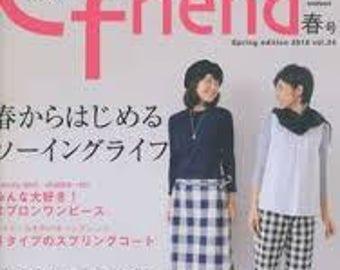 Japanese Craft Magazine Cotton Friend 34