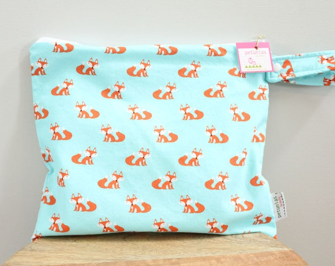 Wet Bag wetbag Diaper Bag ICKY Bag wet proof fox aqua gym bag swim cloth diaper accessories zipper gift newborn baby child kids summer