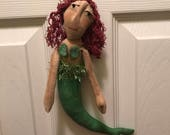 Primitive Doll Mermaid Ready to Ship