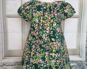 baby dress - floral dress - you pick size -dress  set- Art Gallery knit dress - baby girl clothing - nickisrainbow - spring dress - babywear