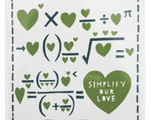Simplify Our Love Green And Teal