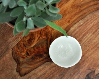 SALE Sea Urchin Ceramic Bowl - Trinket Dish Salt Dish Small Ceramic Bowl Foodie Gift Mom Gift