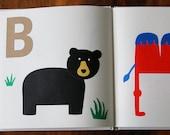 DIY Baby Shower Alphabet Book - Guest Book, Activity Game, and Keepsake - Baby's First Alphabet Book