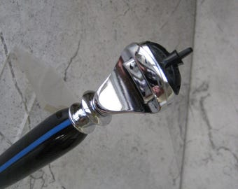 Thin Blue Line Gillette Fusion Razor Handle