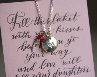 P.S. I Love You -- Locket Necklace