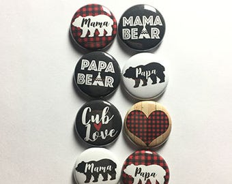 Mama and Papa Bear Flair