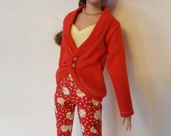 """SALE*** SASSY SPRINGTIME set for Agatha Primrose 13"""" Tonner fashion body"""