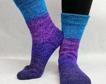 The Knit Sky Panoramic Gradient Matching Socks Set Yarn, dyed to order - pick your size, pick your yarn base