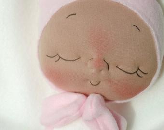 Plush Bunny Rabbit Doll by BeBe Babies