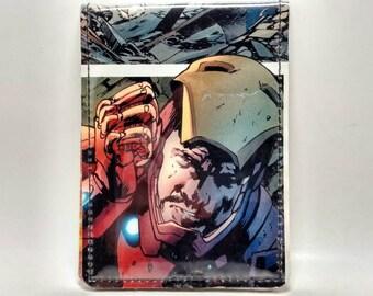 VINYL Comic Book Wallet -  The Avengers - Iron Man Design 11