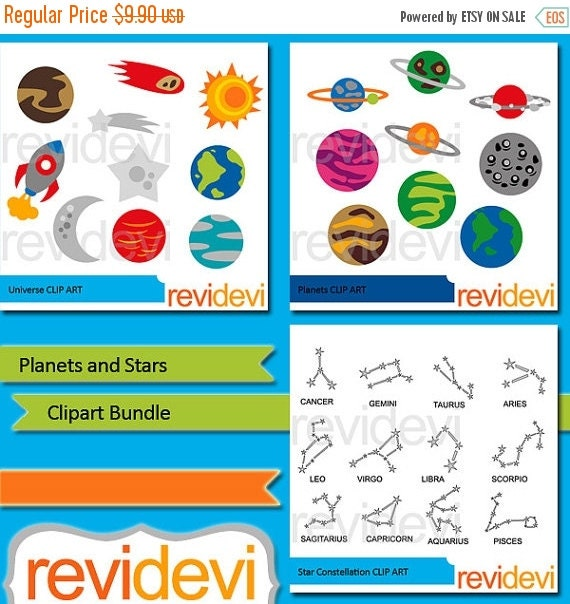 planets and stars clipart - photo #21