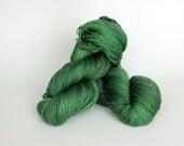 HUNTER, blue label hand dyed sock yarn
