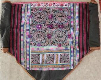 Textiles -  Hmong Baby Carrier/ Hmong / Miao fabric - 7032