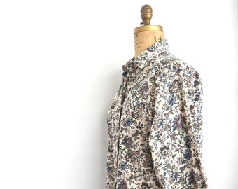 Liberty of london blouse floral