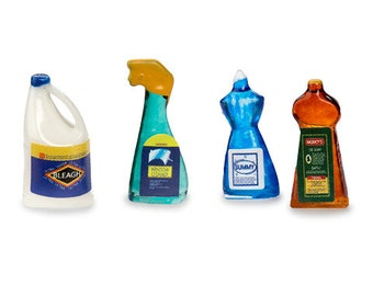 Miniature Cleaning Supplies