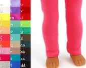 Fits like Wellie Wishers Doll Clothes - Leggings, You Choose Color