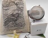 Edgar Allen Poe Tea Gift Set - Raven, Poe, Midnight, Herbal Tea, Halloween, Nevermore, Tea Gift, Poetry, Edgar Allen Poe, Tea Ball