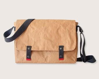 Paper & Cotton Messenger Bag