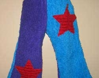 Size 2 Kids Chenille star pants