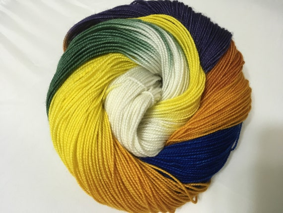 Weaving With Magic - Dyed to Order - Hand Dyed - Merino Wool Yarn - Fingering Weight
