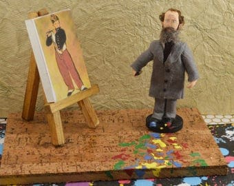 Edouard Manet French Painter Diorama Art Miniature Artist