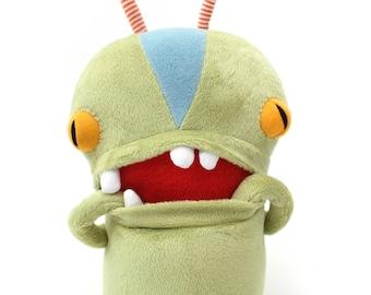 "Monster Plush Stuffed ""Angelo"" Mini Pocket Cotton Monster plushie"