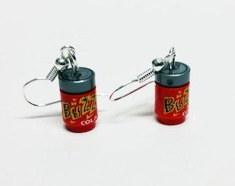 Buzz Cola Earrings
