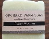 Nasty Womans Soap//Natural Soap