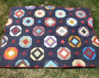 Primative quilt  The Red Eye