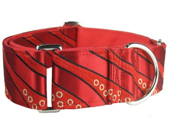 K-nineCouture's Red Martingale Dog Collar