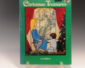 Stained Glass Pattern Book - Christmas Treasures - by Kathleen Moffet