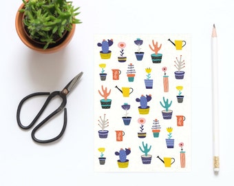 A5 Cactus And Plants Notebook