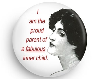 Funny Inner Child Magnet-Funny Kitchen Magnet
