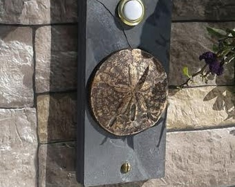 Sand Dollar Coastal Doorbell